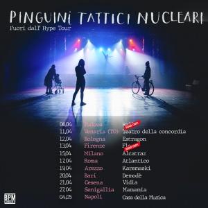 Pinguini Tattici Nucleari tour