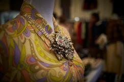 abito Pucci con catena gioiello