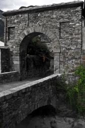 donnas borgo medievale porta