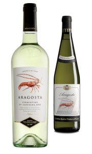 Vermentino Aragosta bottiglie
