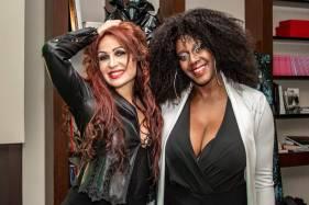 Fabiola Mancini e Sylvie Lubamba