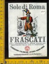 Frascati etichetta storica