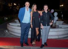 Roberta con Fabrizio e Simone