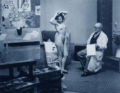 Henri-Matisse-e-una-sua-modella
