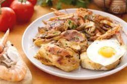 pollo alla marengo piatto