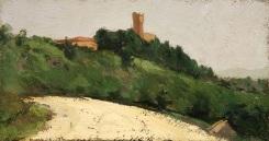 Strada in Monferrato e Castello Uviglie