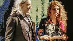 Morgan e la vincitrice dell'ultima edizione_Agnese_Valle