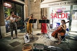 Ferrara-Buskers-Festival-Cuarteto-Nelken-Foto-di-Marco-Tamburrini