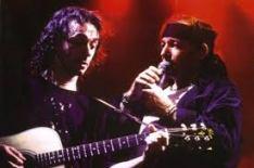 Massimo Riva con Vasco Rossi