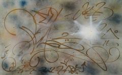 PHASE 2 - Spray e pennarello su metallo