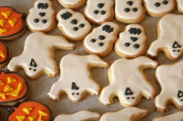 Halloween scary-food