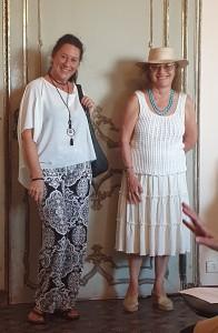 Maria Grazia Dapuzzo e Sabrina Lanzi