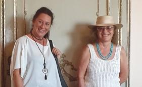 Maria Grazia Dapuzzo e Sabrina Lanzibis