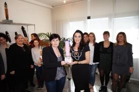 Alessandra Lucaroni premiazione Sabo Rosa 2019 (Foto Mauro Monti) MMM06442