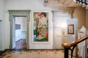 Cernobbio Villa Bernasconi mostra di illustrazioni di Marcello Dudovich