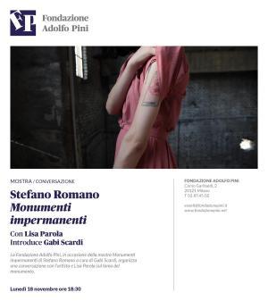 FP_Locandina_2019_11_18_Conversazione STEFANO ROMANO