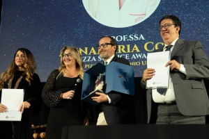 Francesca Marino, Annamaria Colao, Federico Monga e Luciano Pignataro