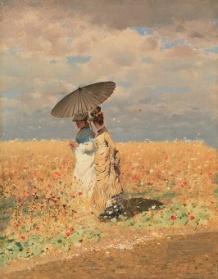 Giuseppe-De-Nittis-Nel-grano-1873-Collezione-privata