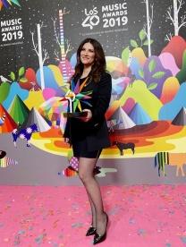 Laura Pausini_Los40 premio