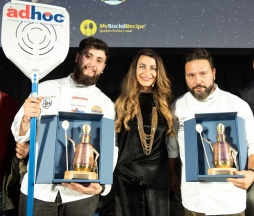 Nicola Falanga, Francesca Marino, Christian Riccio #PizzAward2019