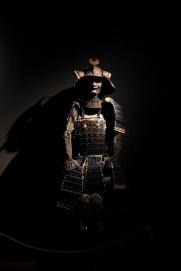 Armatura completa di Samurai, Periodo Meiji (1868-1912), metallo, cuoio