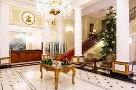 Hall_Grand Hotel Majestic_ Christmas