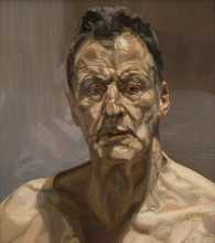 Reflection (Self Portrait), 1985 (oil on canvas)