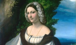 ritratto di giovane donna particolare