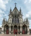 Saint-Urbain de Troyes, West Facade Semi-HDR