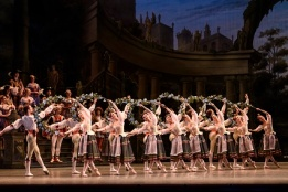 The Sleeping Beauty_The Royal Ballet,  Princess Aurora; Akane Takada, Prince Florimund; James Hay, King Florestan; Alastair Marriott, Queen; Kristen McNally, Cattalabutte; Thomas Whitehead, Carabosse; Christina Arestis, Lilac fairy; Tierney Heap, Fairy of