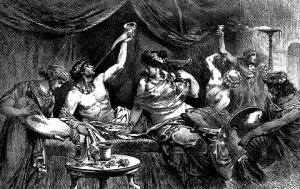 AntiqueRome_Orgy_Bacchanalia_Messaline_1881