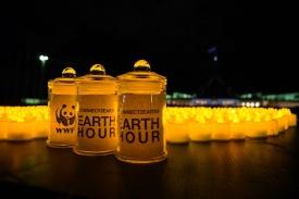 Earth Hour 2019 celebrations in Canberra, Australia