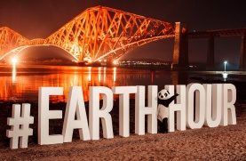 Scotland celebrates Earth Hour.
