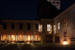 Castello di Padernello - Notturna - Foto di Virginio Gilberti (4)