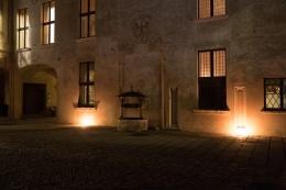 Castello di Padernello - Notturna - Foto di Virginio Gilberti (7)