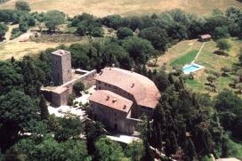 Castello di Petroia - Aerea