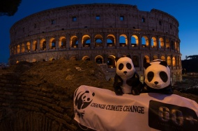 Earth Hour 2017 celebrations in Italy
