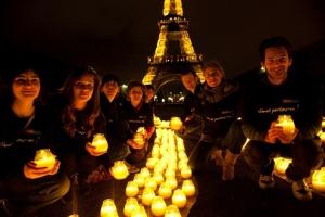 The Eiffel Tour, Paris, France, Earth Hour 2010