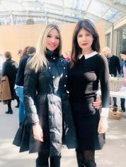 Roberta Pelizer con Susanna Messaggio