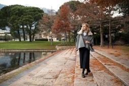 Shooting Luis Trenker Carolina Kostner Parco Terme Merano