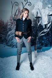 Shooting Luis Trenker Carolina Kostner Sala della neve Terme Merano
