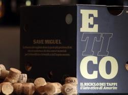 Box raccolta tappi progetto ETICO