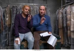 Da sinistra. Nicola Rignanese e Antonio Albanese